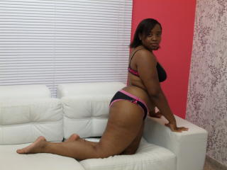 Picture of the sexy profile of PattyEbony, for a very hot webcam live show !