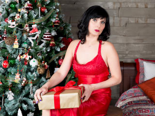 EvelinaX - online show sexy with this dark hair Sexy mother